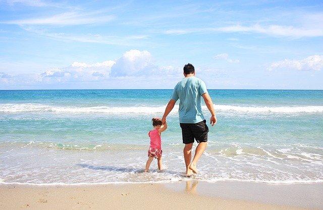 procházka k moři