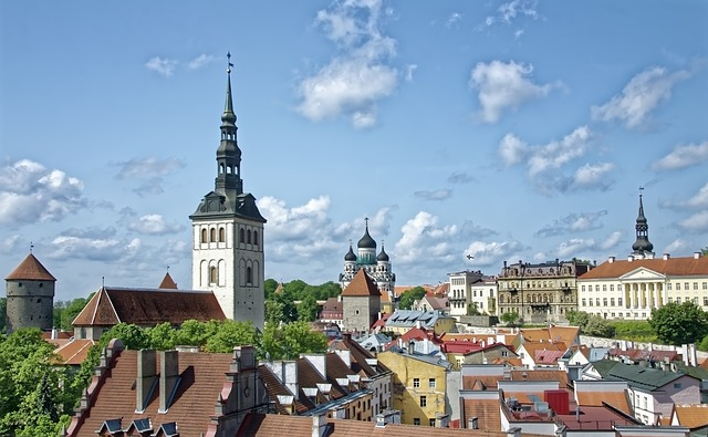 Tallin historické centrum