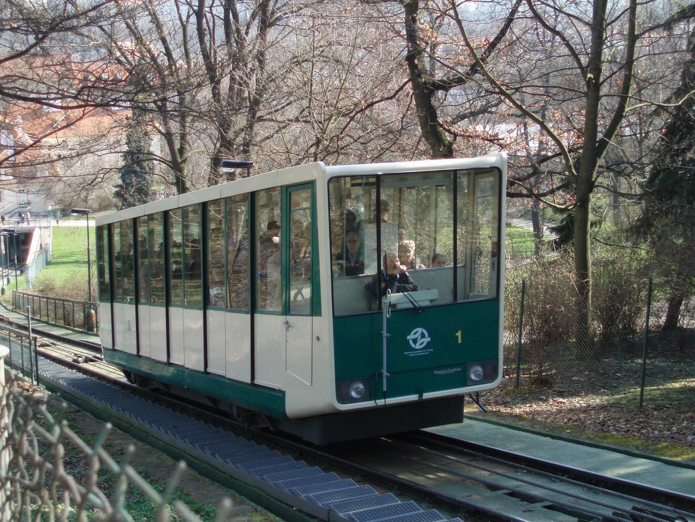 lanovka na Petřín